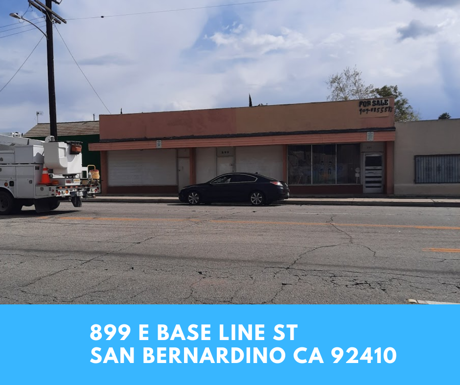 Commercial property in San bernardino
